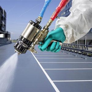 Reactor GRACO, cel mai avansat echipament pentru aplicarea spumei poliuretanice și a poliureii.